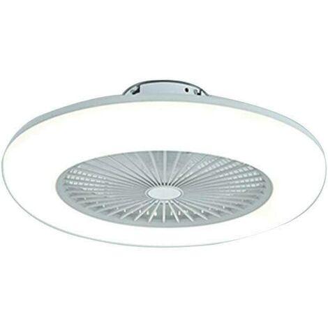 Ventilateur de Plafond avec Eclairage Ventilateur avec Télécommande Ultra Silencieux Ventilateur LED Plafonnier Ventilateur De Plafond Plafonnier
