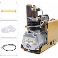 Pompe submersible électrique à haute pression PCP 220 V 30 MPa 4500 PSI Pompe submersible électrique 2800 tr/min