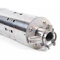 Pompe à Eau Submersible Pompe à Eau Solaire 24V Pompe à Eau sans Brosse Ppuits Profond avec Commande Intégrée 284W 2m3/h