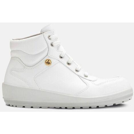 Chaussures de Sécurité Montantes Femme Ballia Blanc - S3 ESD - PARADE / Taille - 42