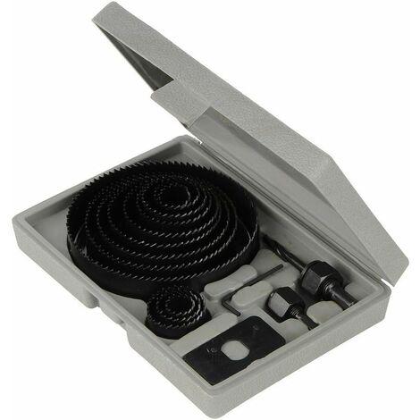 Coffret scies-cloches 16 pièces 19-127 mm
