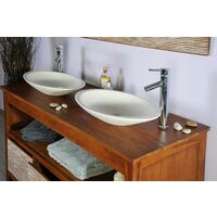 salle de bain teck 140 newsavanah