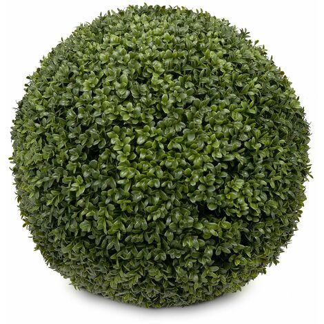 Boule de buis artificielle KARL 48, diamètre de 48 cm