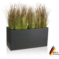 Pot de fleur VISIO 50 en plastique, dimensions: 100x40x50 cm (L/P/H), couleur: anthracite mate