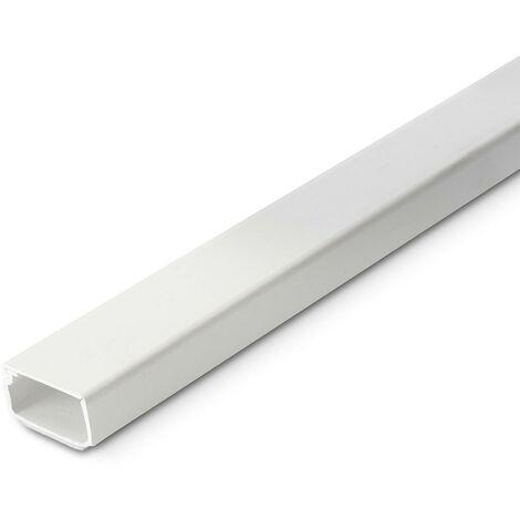 Adh�sif pour goulotte �lectrique 21X11,5Mm Inofix Blanc 2408-2G