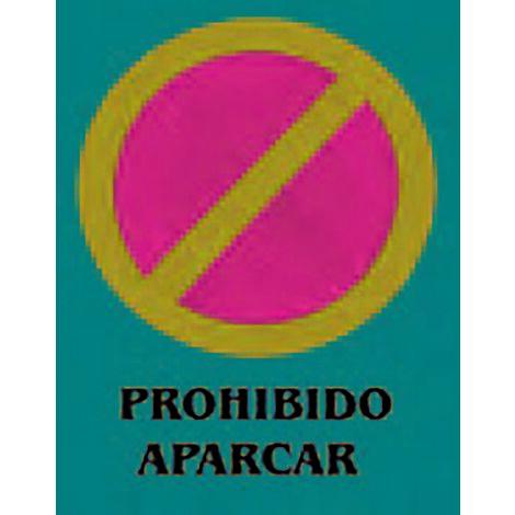 Panneau d'interdiction de stationnement 40X30Cm Pvc Cv Tools