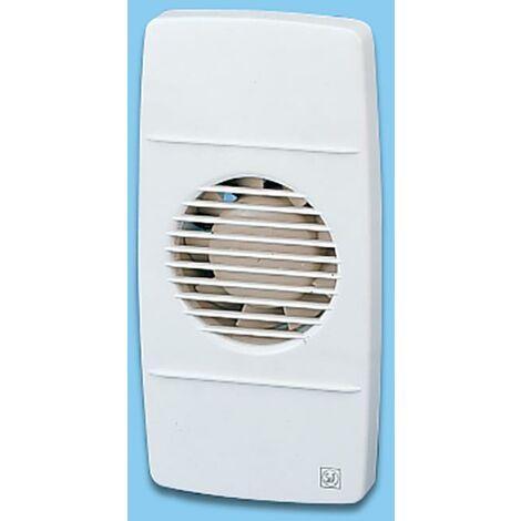 Ventilateur de salle de bain Axial Rectangulaire Avec Timer 80M3/H Blanc Edm 80 Lr S&P