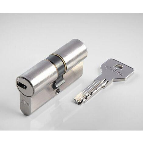 Cylindre à came longue 30X50Mm Nickel Asix Cisa 1.0E300.17.0.1200.C5