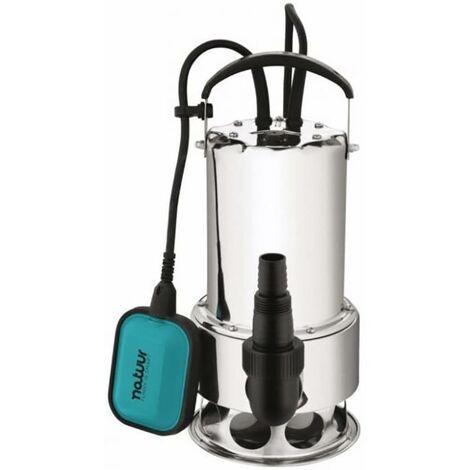 Pompe � eau submersible Eau sale Hauteur de pompe 11Mt 1100W-15100L/H Natuur