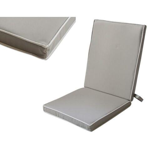 Coussin de chaise 90X40X4Cm Textile Taupe Ldk Garden 82102