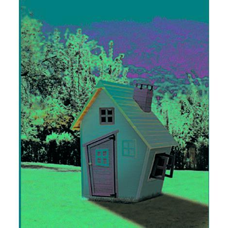Knh1015 Jouets d'ext�rieur Maison de jardin pour enfants Knh1015 Bois Vert/Gris/Bois