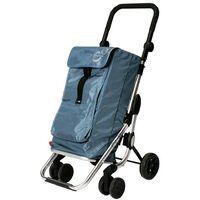 Chariot � provisions 4 Roues 360� Aluminium Bleu Go Up Promo Playmarket