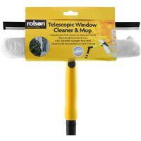 Rolson 61007 Telescopic Window Cleaner - Multi-Colour