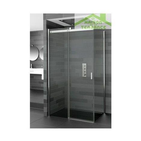Parois de douche coulissante RIHO BALTIC B203 en verre clair