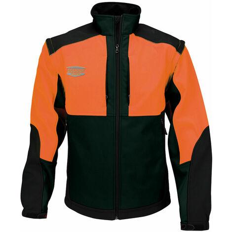 Veste Softshell orange multi-activités Solidur WODA-OR taille 4XL - Orange