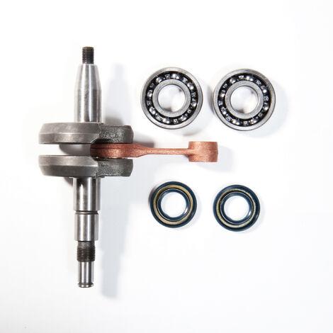 Vilebrequin avec joints et roulements Stihl 029, 039, MS290, MS310 et MS390