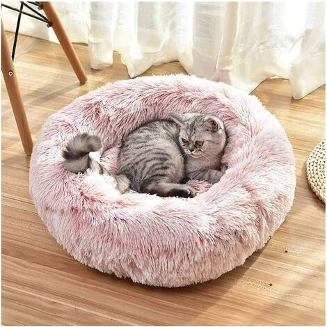 Plush Cat and Dog Bed S
