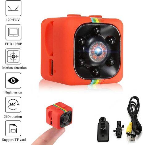 Genuine Mini Spy Camera SQ11 Camcorder 3.6mm Night Vision FOV140 1080P HD Sports Micro Camera DVR Video Recorder by (Metal Shell)