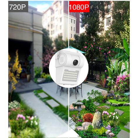 Wireless IR CCTV Camera, Wall Light, 2mp, Full HD, Motion Detection, Two Way Audio, CCTV, WIFI