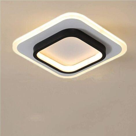 LED Ceiling Lights, 22W Square Ceiling Lights, 3500K Ceiling Lamp for Bathroom, Living Room, Bedroom, Kitchen, Hallway (Warm White)