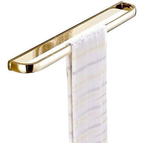 Antique Brass Towel Ring, Bathroom Retro Round Towel Holder, Wall Mounted Bath Hand Towel Rack Rail Bathroom Hardware Classical Ancient Wave Pattern Base