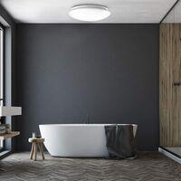 LED bathroom ceiling light, neutral white light 4000 Kelvin, Ø 385mm, 18W, 1.600lm