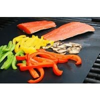 Set of 5 Cooking Mats BBQ Mat Barbecue Plate Baking Sheet Oven 40 * 33cm for Gas Barbecue Electric Charcoal 100% Non-stick