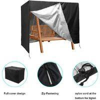 Garden Swing Cover, Patio Swing Cover Protector Patio Furniture Seat UV Block Hammock Cover