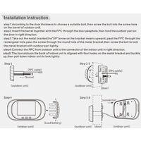 2.8 inch LCD Digital Screen Doorbell 0.3MP IR Smart Night Vision Electronic Door Peephole Video Camera Viewer Door Bell Gold
