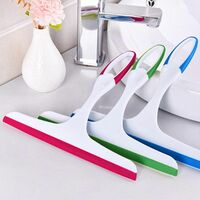 Squeegee Shower Cleaner, for Shower, Glass & Glass, Double Sided Double Sided Multi-Sided Glass Scraper Tool (3-pack]