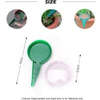 Seed distributor, garden tools 5 adjustable seed drills, Transplanters and perforators in various sizes