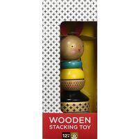 Rabbit Wood Stacking Toy