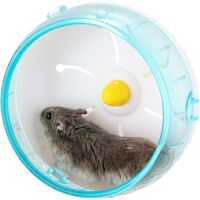 Silent Hamster Running Spinner Exercise Wheel, Pet Running Toy for Hamsters, Gerbils, Hedgehogs Mice and Other Small Animals