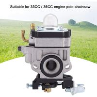 Carburetor Hedge Trimmer Replacement for 33CC / 36CC Engine Chainsaw Mower Accessory Motorized Garden Tools Lawn mower & agrave; Grass