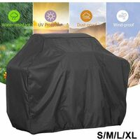BBQ Cover Heavy Duty Waterproof Rain Gas Barbeque Grill Garden Protector S/M/L(M)