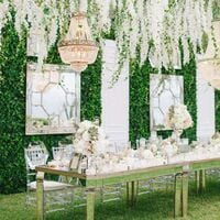Artificial Hanging Plants, Artificial Leaves White Wisteria Flower 12 Pack Fake Vine Hanging Plant Artificial Vine Plant Garland Green Leaves Fake Plastic Plant Garden Wedding Wall Decor