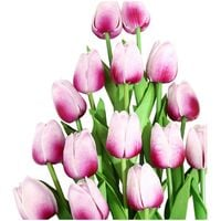 Mother's Day Artificial Flowers Garden Tulips Real Touch Flowers Tulip Bouquet Decor Mariage for Home Decorations Fake Flower