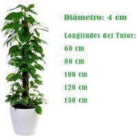Tutor fibra de coco. Naturplant. 100 cm.