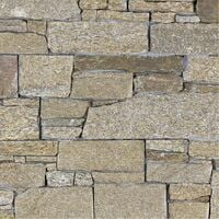 Parement Granit Negara ép.3/4cm - vendu par lot de 0.440 m² - Beige, Brun, Jaune