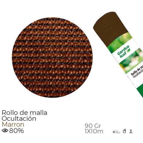 EDM Malla plegable marron 80% 90gr 1x10mts