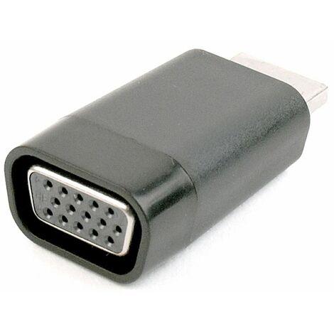 GEMBIRD Adaptador HDMI a VGA GEMBIRD A-HDMI-VGA-001 1080 px 60 Hz Negro