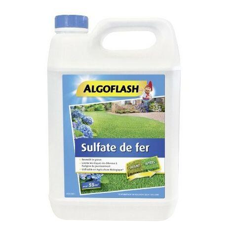 Sulfate de fer liquide 5L Algoflash