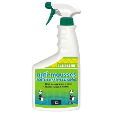 Anti-mousses toitures-terrasses CLAIRLAND PAE 750mL