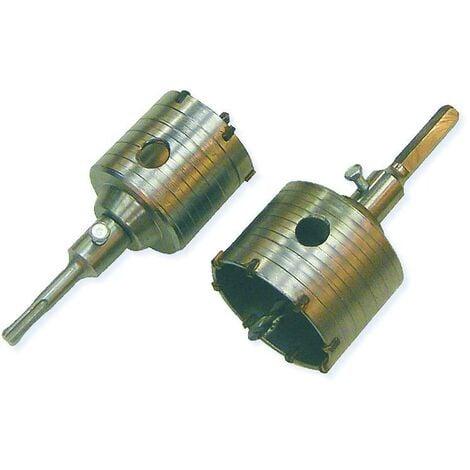 Scie trépan SDS Ø 65 et 80 mm + Arbre + Foret