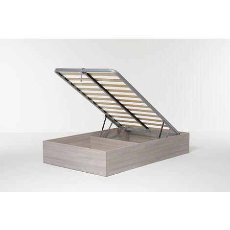 Letto Contenitore Cangu' Bed Box Singolo Grande 120X190 Olmo Naturale