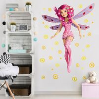 Tatuaje de pared - Mia and Me - Fairy Mia Dimensión LxA: 50cm x 38cm