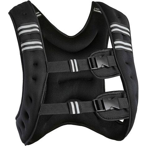 Gilet De Course Gilet De Musculation 10kg - Noir