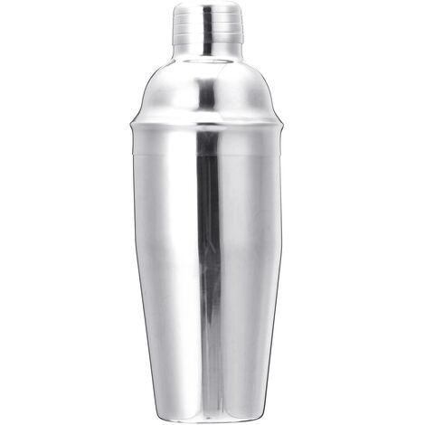(750 ml)?(stainless steel) 1/10 / 12 / 20pcs Premium Shaker Barware Set Cocktail Shaker Kit Milk Tea Drink Mixer Bartender Martini Bar Set with optional stand (1PCS only Shaker)