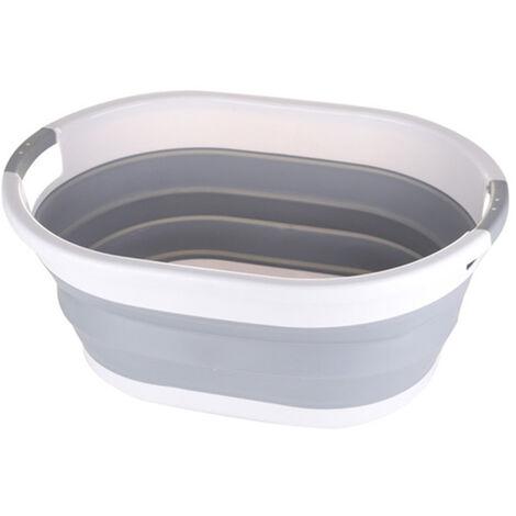 Large Collapsible Laundry Basket Collapsible Fabric Bathroom Laundry Storage Basket (Large)