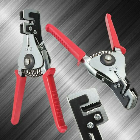 Automatic Cable Wire Stripper Crimping Plier Hand Tool Cutter Stripping Crimper